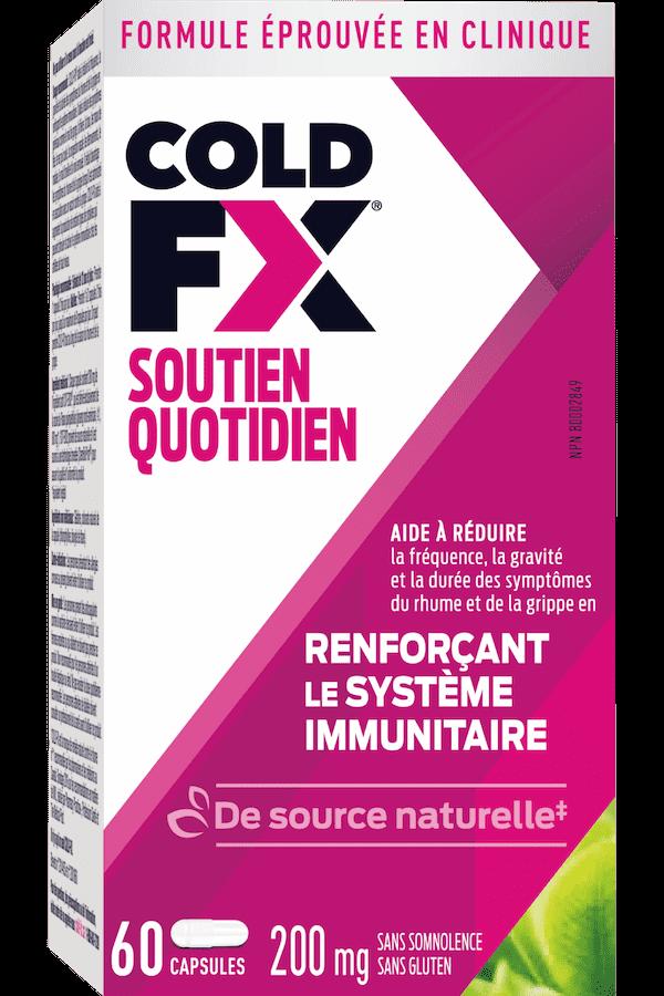 Cold-FX Soutien Quotidien, 60 capsules