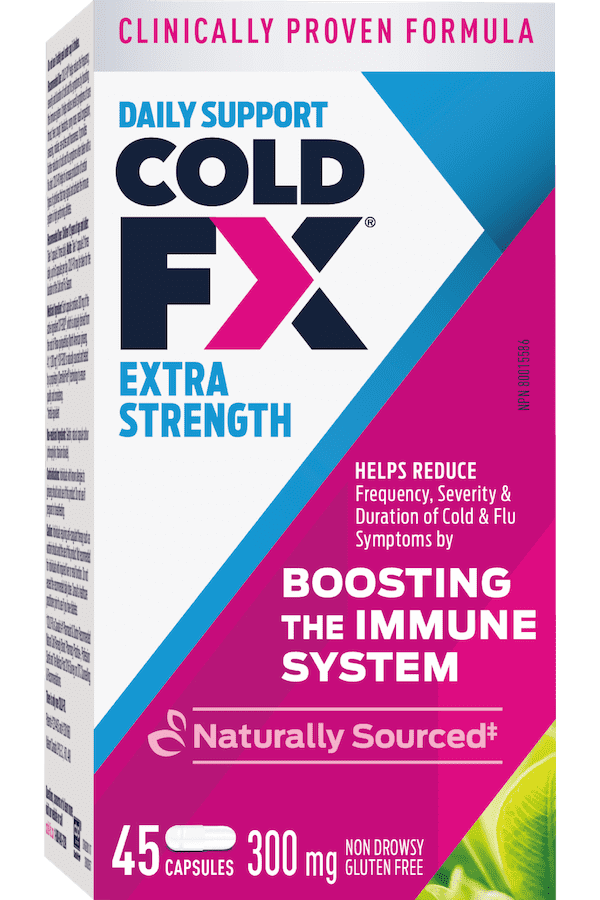 Cold-FX Extra Strength, 45 capsules