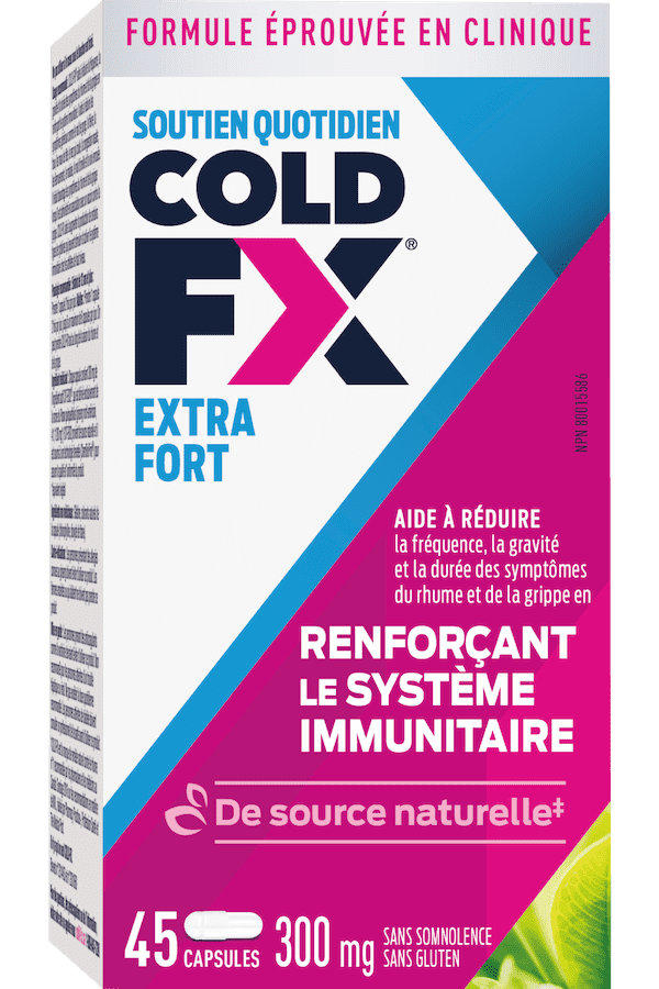 Cold-FX Extra Fort, 45 capsules