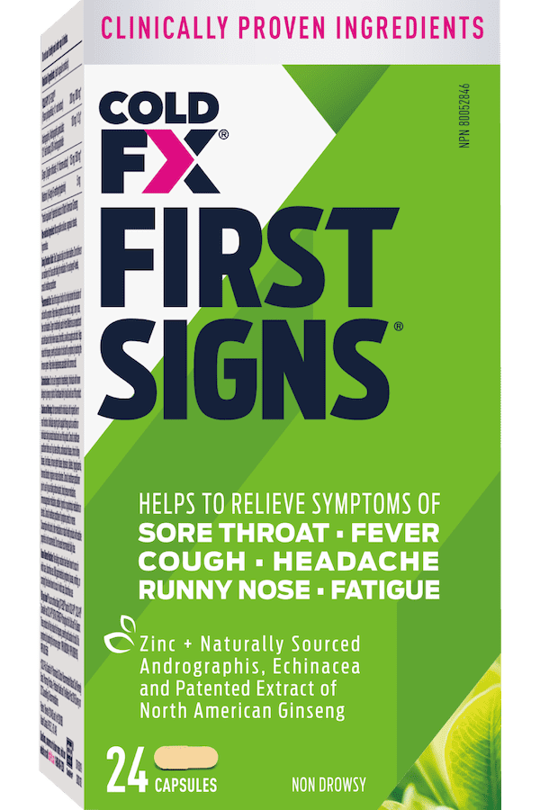 first signs cold fx
