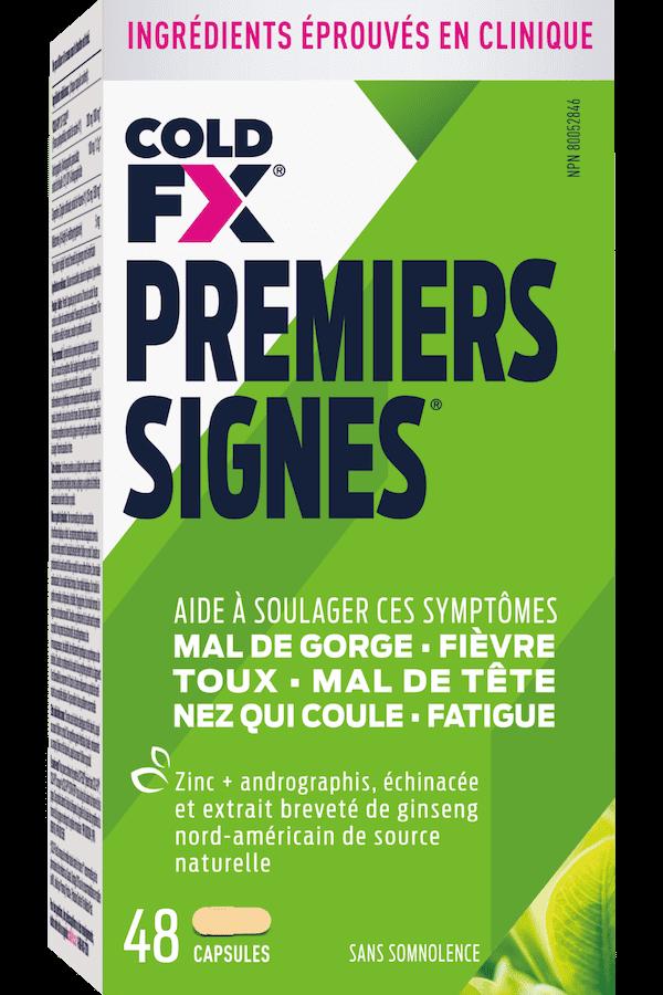 Cold-FX Premiers Signes, 48 capsules