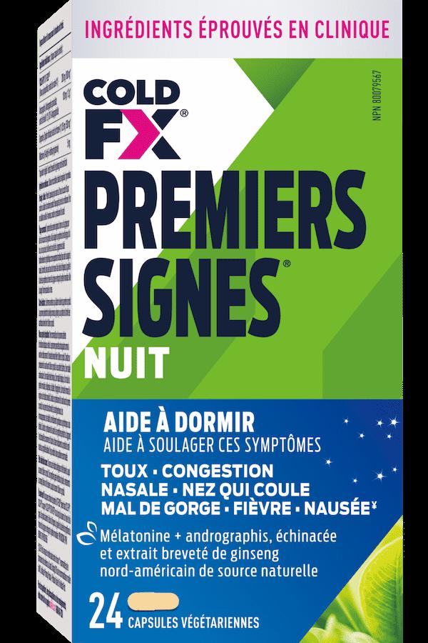 Cold-FX Premiers Signes Nuit, 24 capsules