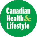 Canadian Health & Lifestyle green Logo