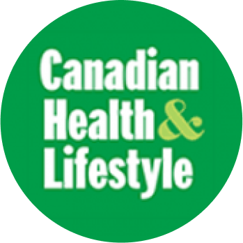 Canadian Health & Lifestyle green Logo