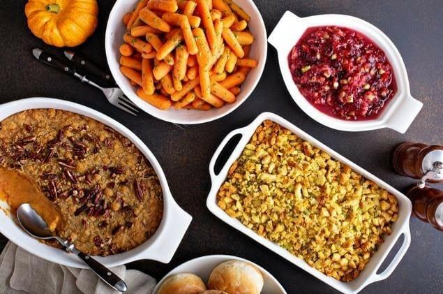 Nutritious Holiday Dinner Sidekicks